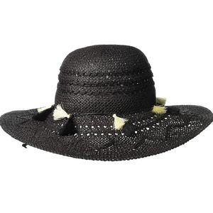 Echo Design Tassel Tango Paper Straw Hat